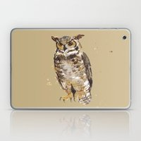 Great Horned Owl - Gertrude Laptop & iPad Skin