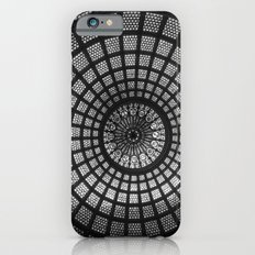 Tiffany Glass Dome Black/White Photography iPhone 6s Slim Case