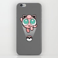 Jigglypuff opened a can of whoop-ass! It's super effective! iPhone & iPod Skin