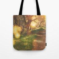 Oak Trail Tote Bag