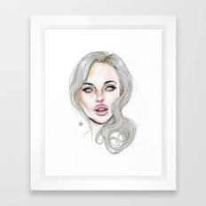 Lindsay By Lucas David 2015 Framed Art Print