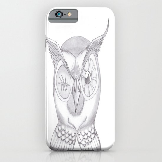 Mr. Wink The Owl iPhone & iPod Case