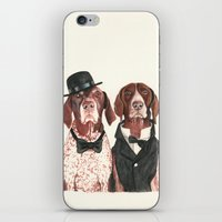 german short hair pointers - F.I.P. @ifitwags (The pointer brothers) iPhone & iPod Skin