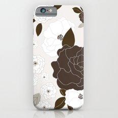 Soft Pastel Floral Print iPhone 6s Slim Case