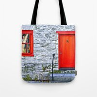 Winchester Red Door Tote Bag