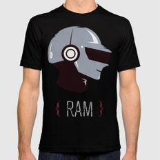 Daft Punk - RAM (Thomas) Mens Fitted Tee Black SMALL