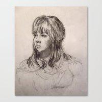 Annalee in 20 Canvas Print