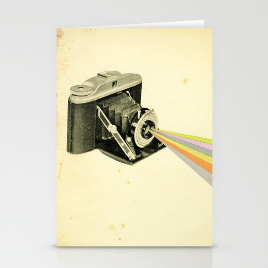 It's a Colourful World Stationery Card
