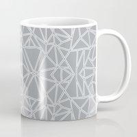 Ab Blocks Grey #3 Mug