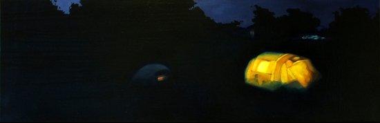 Camp Lights I Art Print