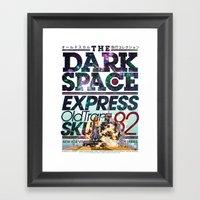 The Dark Space Framed Art Print