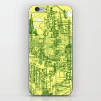 San Francisco! (Yellow) iPhone & iPod Skin