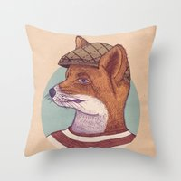 Young Rebel Throw Pillow