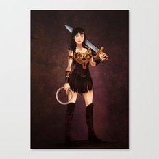 Disney Halloween: Mulan Canvas Print