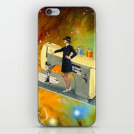 Barbara's Spaceship iPhone & iPod Skin