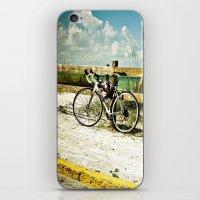 Bicycle on Beach iPhone & iPod Skin