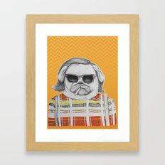 Puggy Olsen Framed Art Print