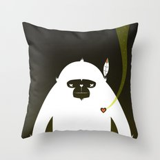 PERFECT SCENT - BIGFOOT 雪人 . EP001 Throw Pillow