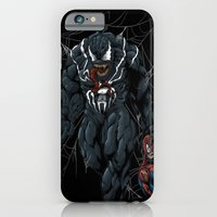 iPhone & iPod Case featuring Vicious Venom Violence by Dave Franciosa