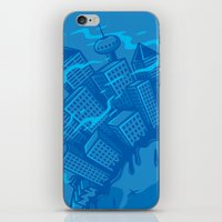 Dying planet iPhone & iPod Skin