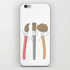 Hairstyles iPhone & iPod Skin
