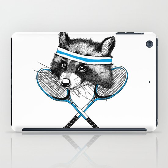 Little Raccoons Tennis Club iPad Case
