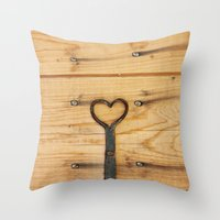 Love Is All Around Us Throw Pillow