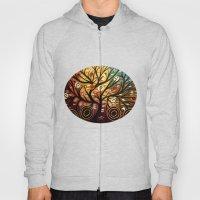 Abstract tree-9 Hoody