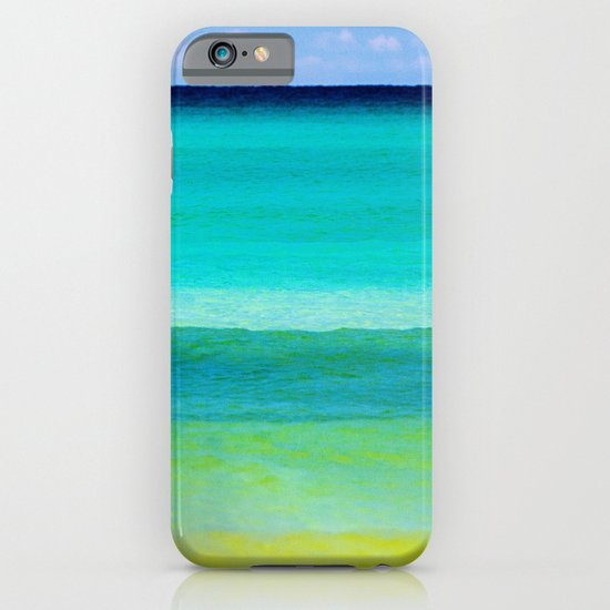 the colors of the sea iPhone & iPod Case
