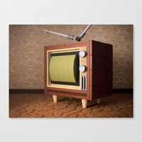 It's Time For The Ed Sul… Canvas Print