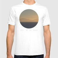 Lost In The Haze Mens Fitted Tee White SMALL