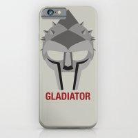 iPhone & iPod Case featuring GLADIATOR by Alejandro de Antonio Fernández