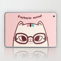 Pochoclo The Cat Laptop & iPad Skin