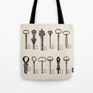 Usb Keys Tote Bag