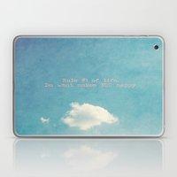 Rule #1 Of Life  Laptop & iPad Skin