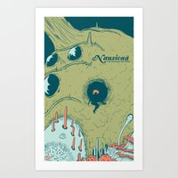 Nausicaä Of The Valley … Art Print