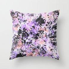 Paint texture Throw Pillow