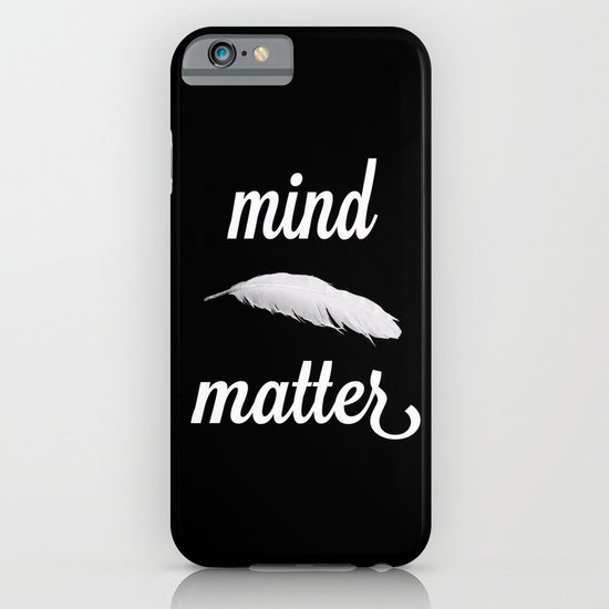 mind > matter iPhone & iPod Case