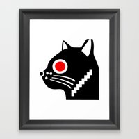 Zelonicus Cat Framed Art Print