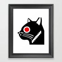 Zelonicus Cat Framed Art Print