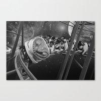 Roller Saigon Canvas Print