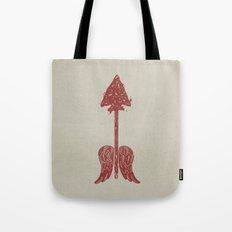 Arrow On The Doorpost Tote Bag
