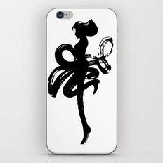 Zen brush Dancer iPhone & iPod Skin