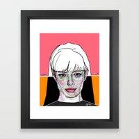 Jane Margolis BREAKING B… Framed Art Print