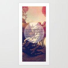 the dragons Art Print