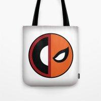 Wilson VS Wilson (Deadpool Deathstroke) Tote Bag