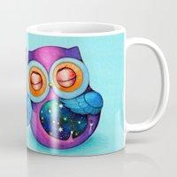 Night And Day Owls Mug
