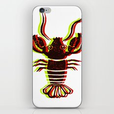 Lobster Confusion iPhone & iPod Skin
