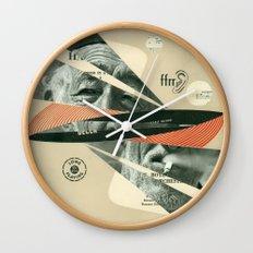 Smoke Symphony Wall Clock