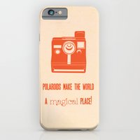 iPhone & iPod Case featuring Polaroids make the world a better place by Menina Lisboa
